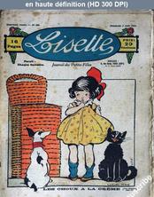 LISETTE numéro 160 du 03 août 1924