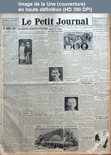 LE PETIT JOURNAL  numéro 23600 du 28 août 1927