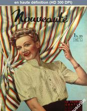 NOUVEAUTE numéro 14 du 02 avril 1939