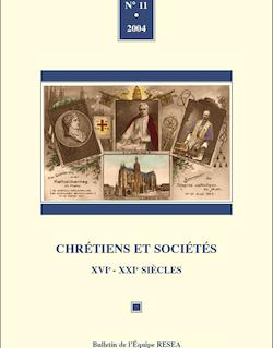 11 | 2004 - Varia - Chrétiens sociétés