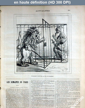 LE CHARIVARI  du 05 décembre 1878
