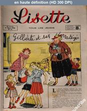 LISETTE numéro 12 du 21 mars 1948
