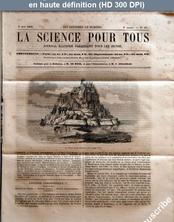 LA SCIENCE POUR TOUS  numéro 22 du 06 mai 1858