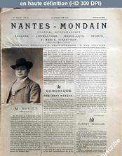 NANTES MONDAIN numéro 21 du 16 février 1901