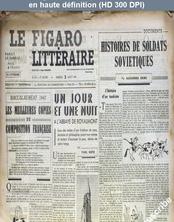 LE FIGARO LITTERAIRE  numéro 67 du 02 août 1947