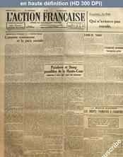 L' ACTION FRANCAISE  numéro 97 du 06 avril 1920