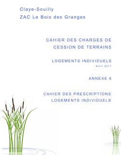Claye-Souilly ZAC Le Bois des Granges Le Bois des Granges Le ...