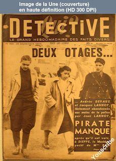 QUI DETECTIVE numéro 169 du 26 septembre 1949