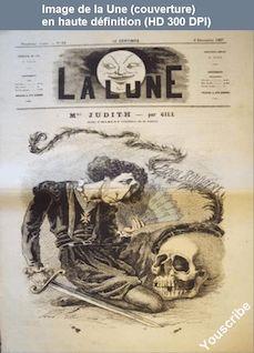 LA LUNE  numéro 92 du 08 décembre 1867