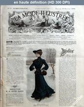LA MODE ILLUSTREE  numéro 51 du 21 décembre 1902