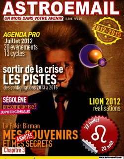 Astroemail 114 juillet 2012