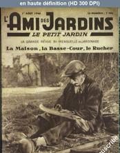 L' AMI DES JARDINS  du 01 août 1946