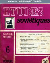 ETUDES SOVIETIQUES numéro 6 du 01 octobre 1948