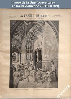 LA FRANCE ILLUSTREE  numéro 1219 du 09 avril 1898