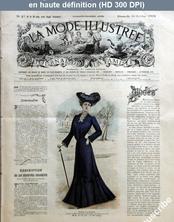 LA MODE ILLUSTREE  numéro 43 du 26 octobre 1902
