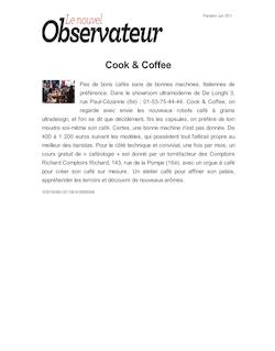 Cook & Coffee