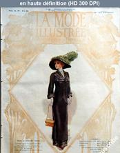 LA MODE ILLUSTREE  numéro 46 du 12 novembre 1911