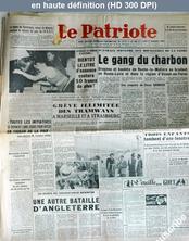 LE PATRIOTE  du 12 septembre 1949