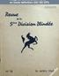 REVUE DE LA 5 EME DIVISION BLINDEE numéro 18 du 16 avril 1947