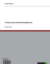 IT-Steuerung im Dienstleistungsbereich