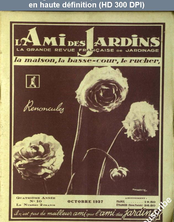 L' AMI DES JARDINS  numéro 10 du 01 octobre 1937