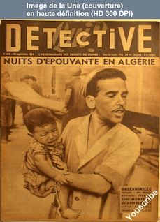 QUI DETECTIVE numéro 429 du 20 septembre 1954