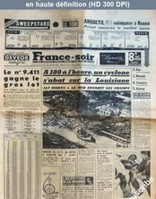 FRANCE SOIR du 30 juillet 1957