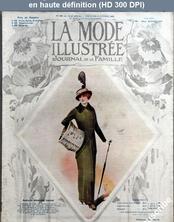 LA MODE ILLUSTREE  numéro 43 du 26 octobre 1913