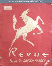 REVUE DE LA 5 EME DIVISION BLINDEE numéro 43 du 15 mai 1949