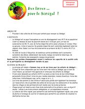 COLL LIVRES primaire.. - Des livres ... pour le Sénégal !