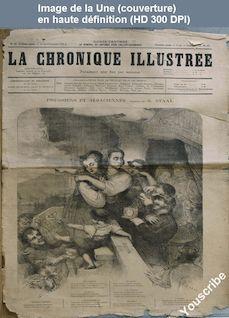 LA CHRONIQUE ILLUSTREE  numéro 32 du 10 décembre 1871