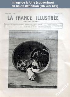 LA FRANCE ILLUSTREE  numéro 627 du 04 décembre 1886