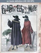 LE PETIT ECHO DE LA MODE  numéro 48 du 27 novembre 1921