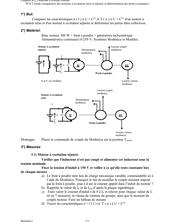 Etude comparative des moteurs à excitation série et séparée
