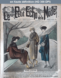 LE PETIT ECHO DE LA MODE  numéro 46 du 16 novembre 1919