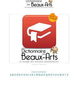 Dictionnaire des Beaux-Arts et de la Peinture