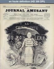 LE JOURNAL AMUSANT  numéro 644 du 02 mai 1868