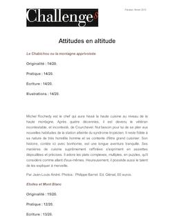 Attitudes en altitude