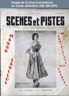 SCENES ET PISTES numéro 53 du 01 novembre 1958