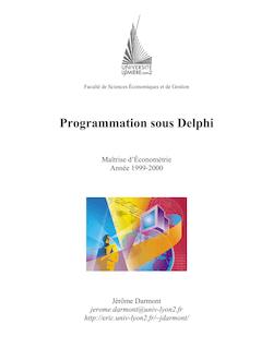 Programmation sous Delphi