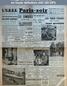 PARIS SOIR numéro 221 du 29 janvier 1941