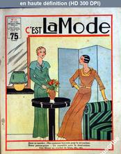 C'EST LA MODE numéro 12 du 19 mars 1933