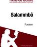 Salammbô de Flaubert - Fiche de lecture