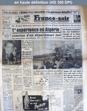 FRANCE SOIR du 25 juin 1958