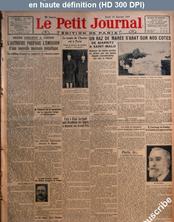 LE PETIT JOURNAL  numéro 22274 du 10 janvier 1924