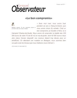 «Le bon compromis»