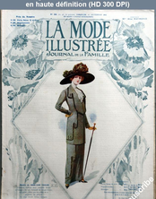 LA MODE ILLUSTREE  numéro 39 du 29 septembre 1912