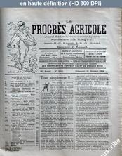 LE PROGRES AGRICOLE  numéro 2413 du 21 octobre 1934
