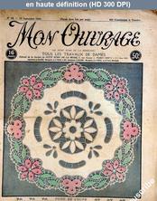 MON OUVRAGE numéro 38 du 15 septembre 1924