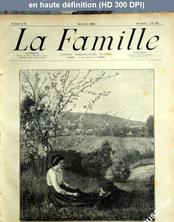 LA FAMILLE  numéro 1385 du 22 avril 1906